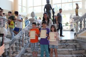 Participants sub-10 i sub-12 amb Anna Alhama